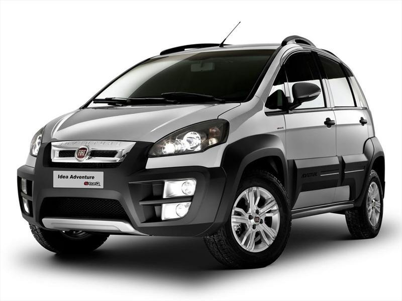 Fiat Idea Adventure 1.6L Locker (2013)
