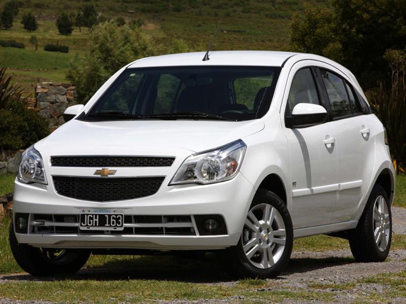 Chevrolet Agile LTZ (2011)