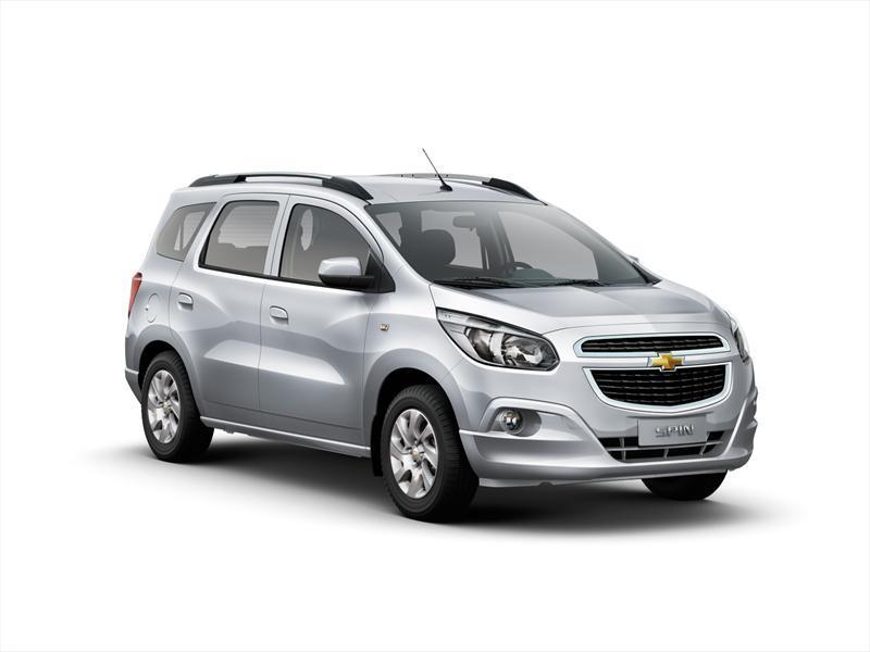 Chevrolet Spin LT 1.8L (2012)