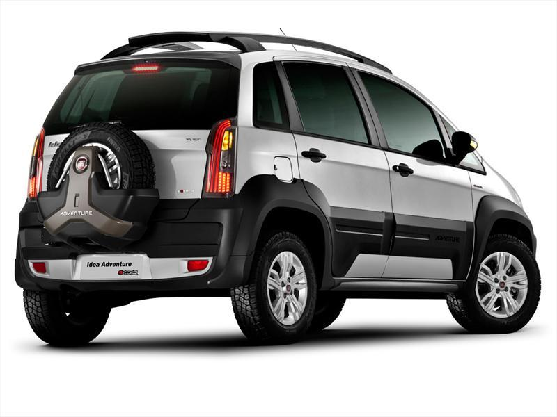 Fiat idea 1 6 adventure 2013 for Paragolpe delantero fiat idea adventure