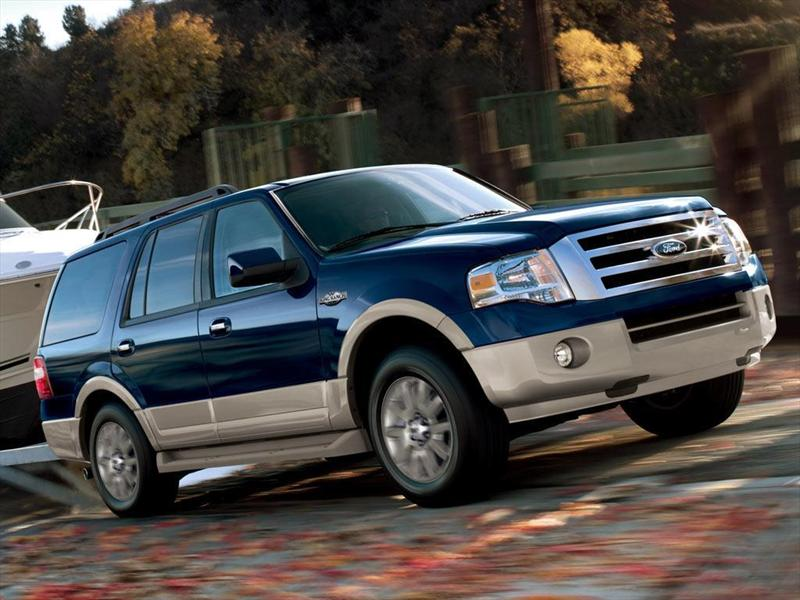 King Ranch Ford >> Ford Expedition King Ranch 4x2 (2012)