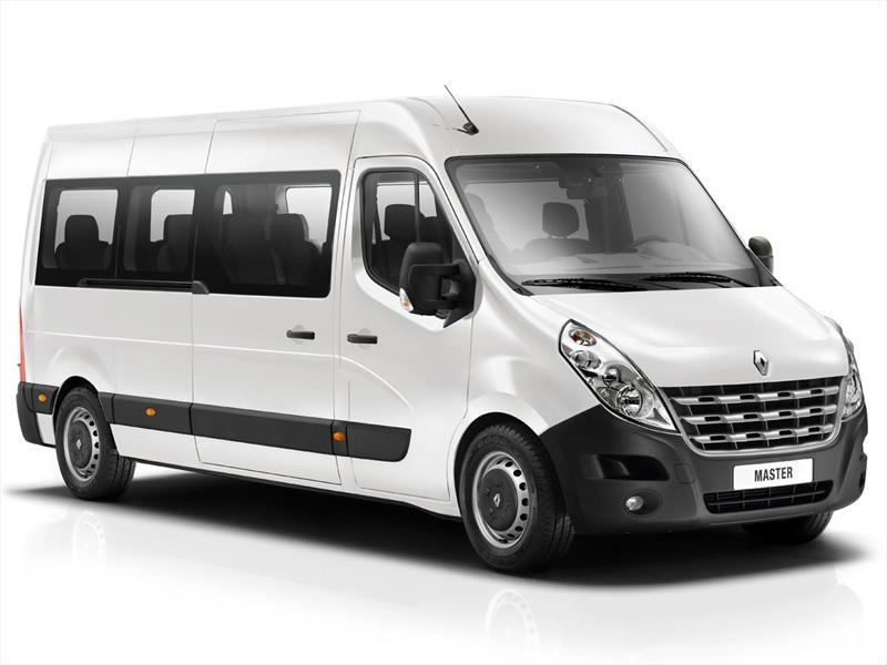 foto Renault Master Minibus nuevo color A elección precio $3.551.700