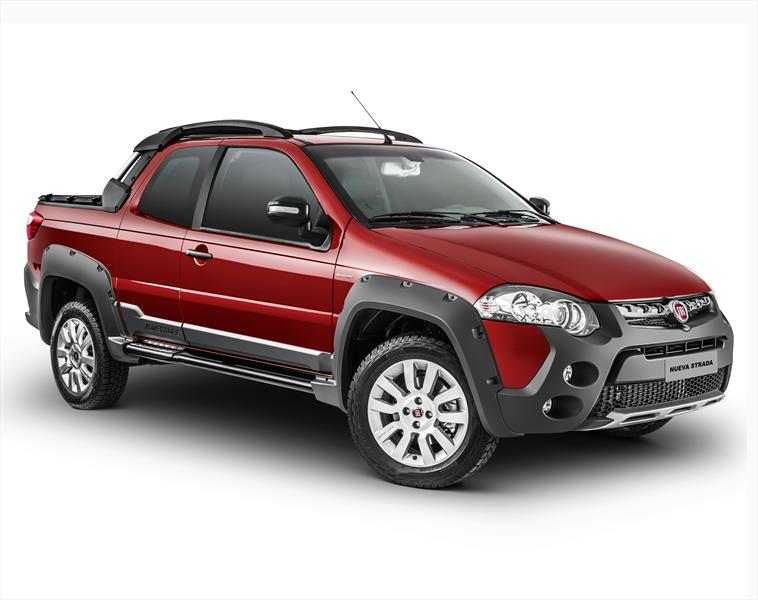 Fiat Strada Adventure Doble Cabina 1.6L E-torQ Locker  (2014)