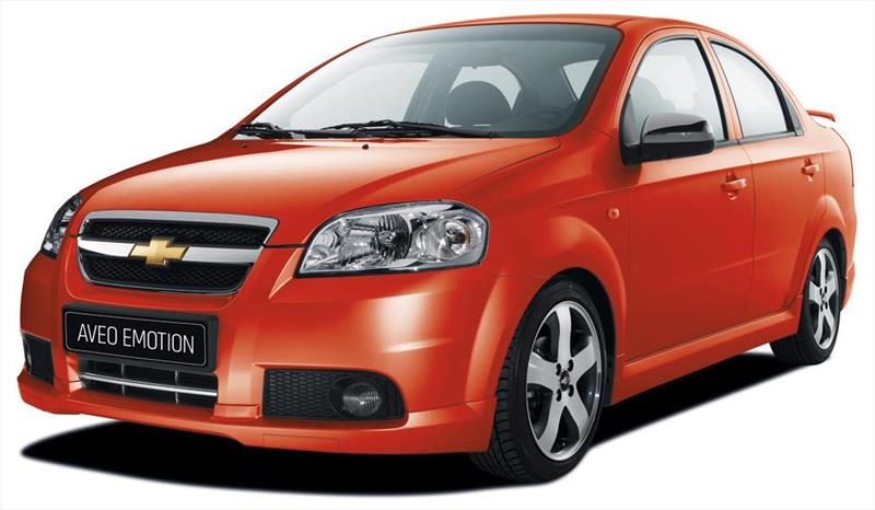 Chevrolet Aveo Emotion Sedán GLS