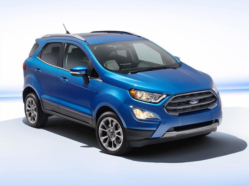 foto Ford Ecosport Titanium Aut nuevo color Azul Relampago precio $425,400