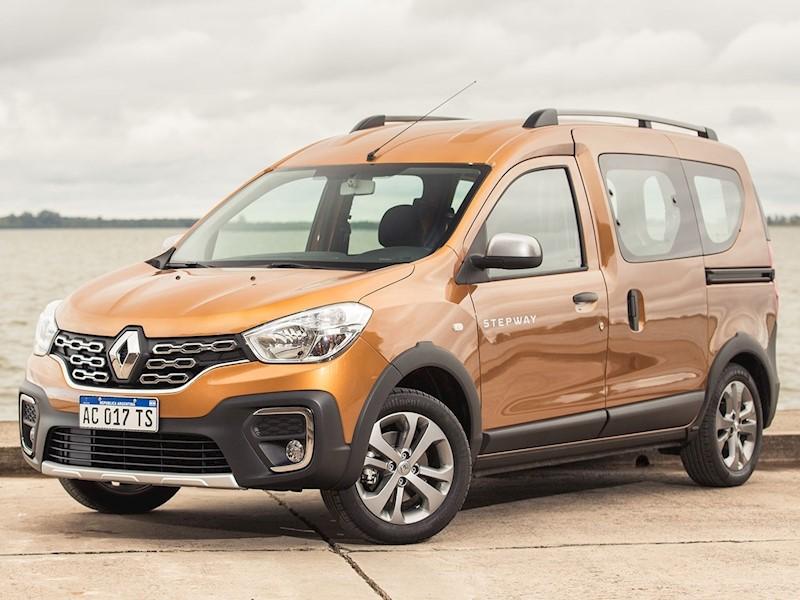 foto Renault Kangoo Stepway 1.6 dCi nuevo color A elección precio $1.221.930