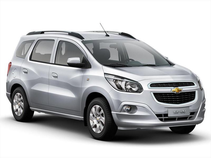 Chevrolet Spin LTZ 1.8L Die 5 Pas (2013)