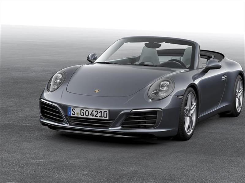 foto Porsche 911 Carrera Cabriolet Black Edition