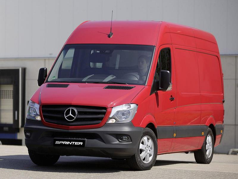 foto Mercedes Benz Sprinter Furgón 415 4325 TE V2