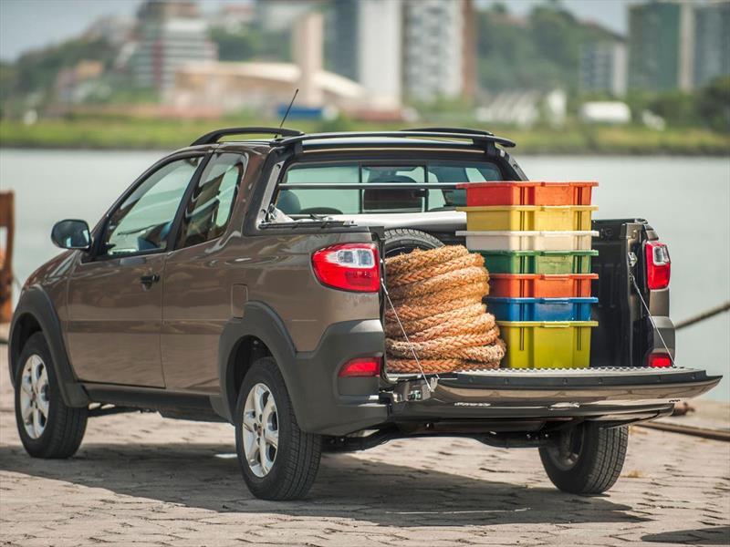 Fiat strada working 1 4 cabina doble 3 puertas 2015 - Fiat strada doble cabina ...