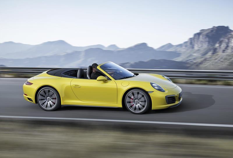 foto Porsche 911 Carrera 4S Cabriolet
