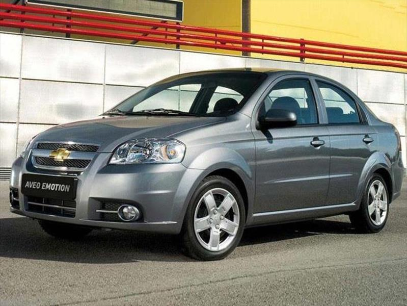 Chevrolet Aveo Emotion Informacin 2017