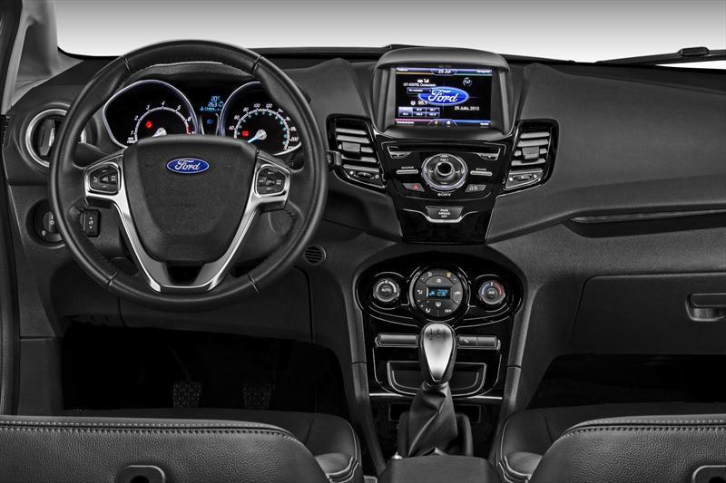 Ford Fiesta Kinetic Sed U00e1n Titanium  2014