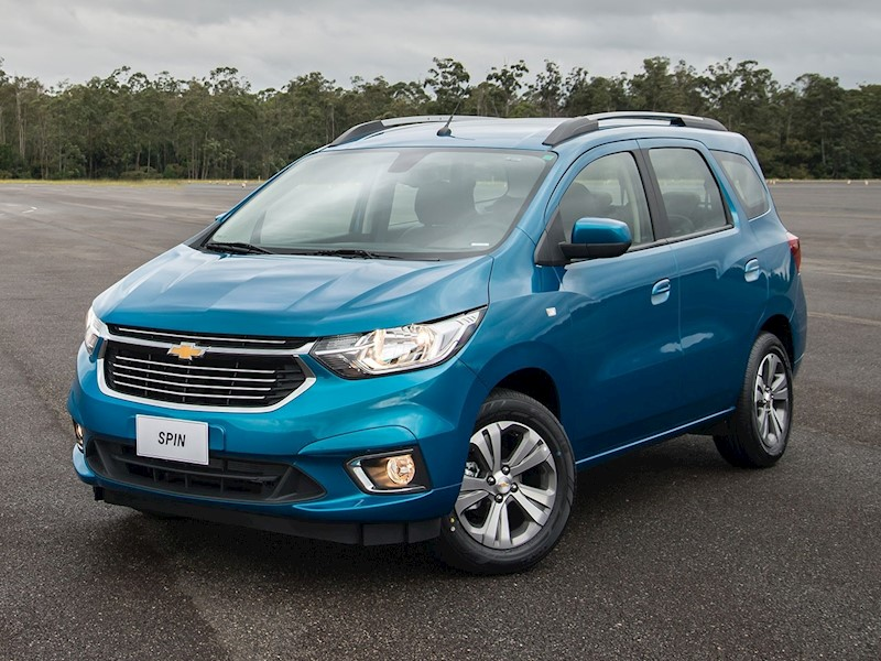 foto Chevrolet Spin LT 1.8 5 Pas financiado en cuotas anticipo $98.300