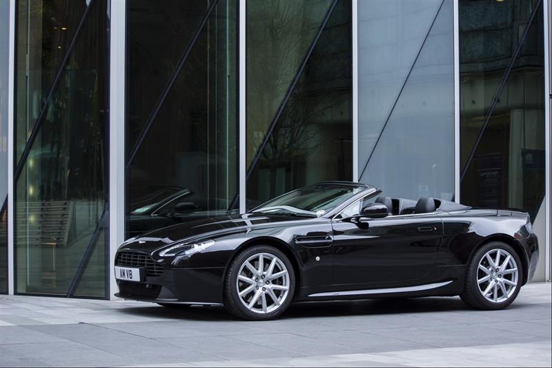 foto Aston Martin Vantage V8 Roadster