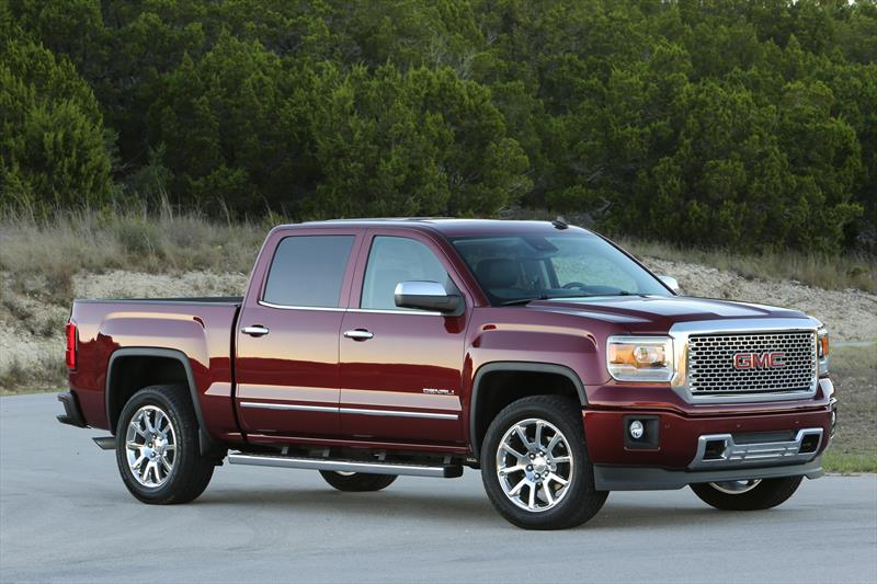 155723 on 2014 gmc sierra all terrain package