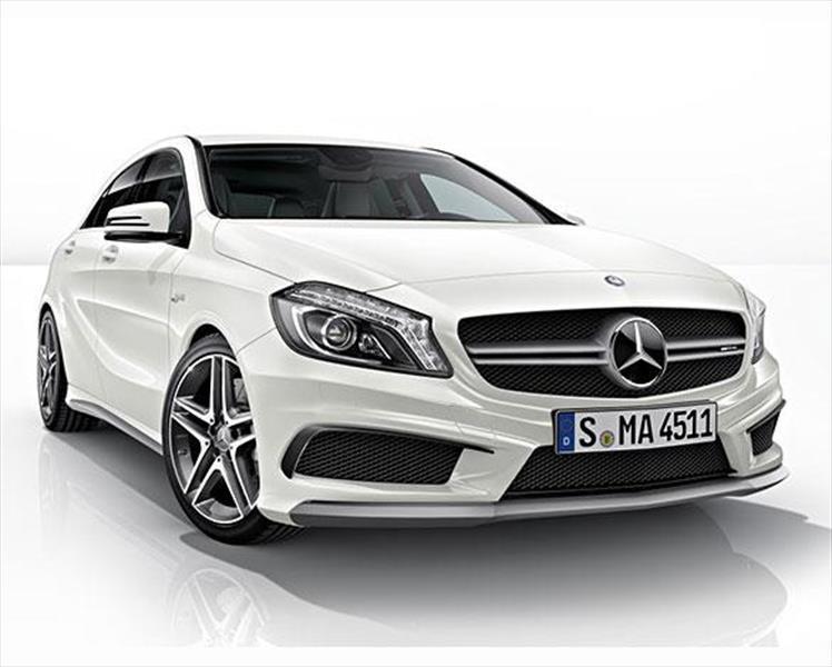 Mercedes benz clase a 45 amg 2018 for Carros mercedes benz precios