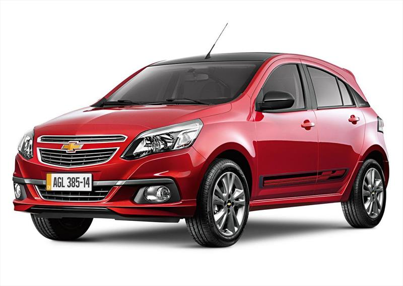 Chevrolet Agile Effect (2014)