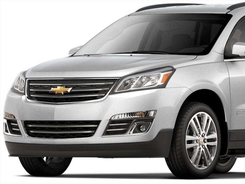 chevrolet traverse lt piel 2017. Black Bedroom Furniture Sets. Home Design Ideas