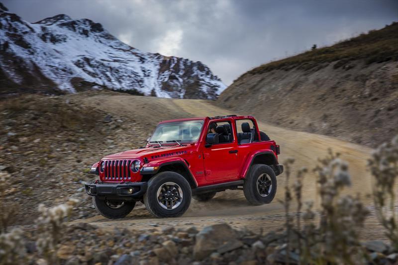 foto Jeep Wrangler Rubicon 4x4 3.6L Aut nuevo color A elección precio $839,900