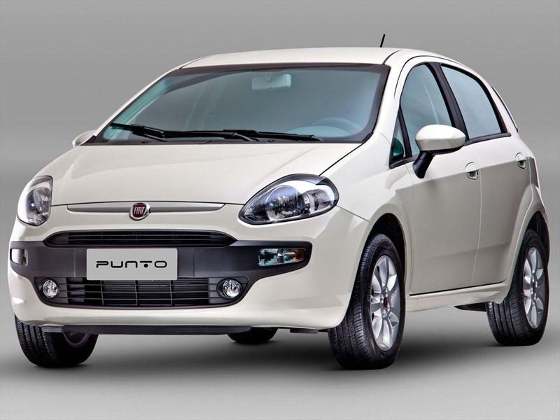fiat punto 5p 1 4 attractive 2014. Black Bedroom Furniture Sets. Home Design Ideas