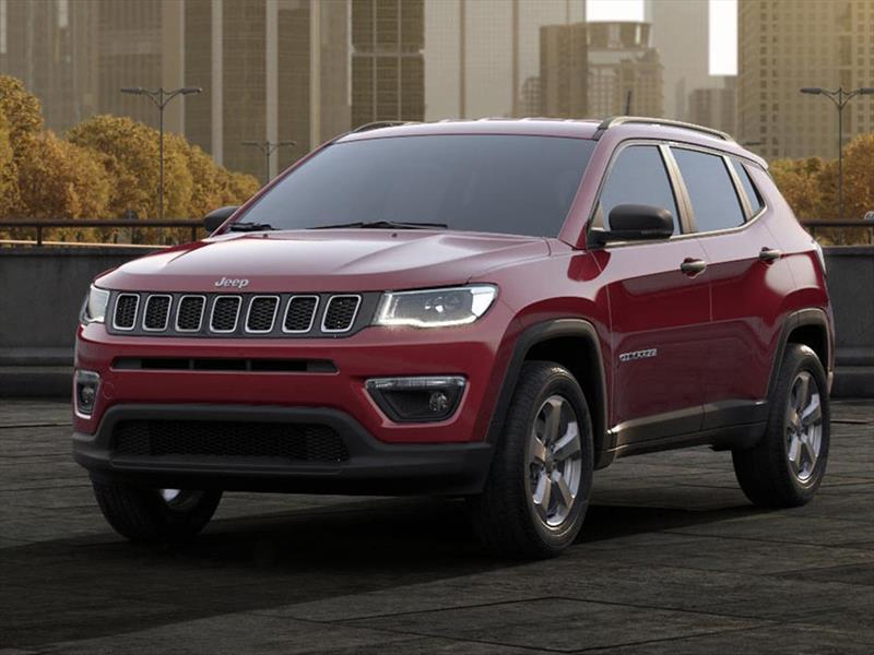 jeep compass 2 4l longitude 4x4 aut 2018. Black Bedroom Furniture Sets. Home Design Ideas