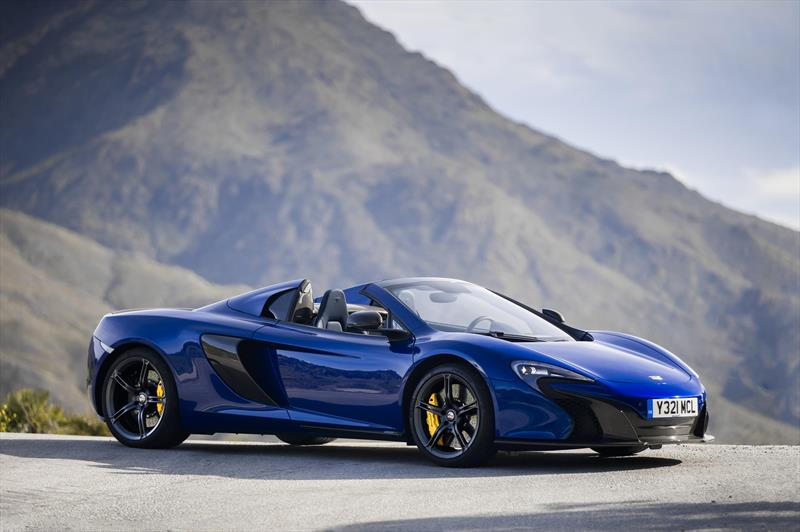 foto McLaren Automotive 650S Spyder 3.8L