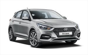 Hyundai Accent HB GL Aut nuevo color A eleccion precio $274,800