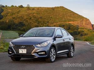Hyundai Accent GL Mid nuevo color A eleccion precio $267,700