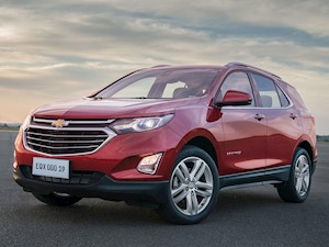 Chevrolet Equinox FWD financiado en cuotas anticipo $200.685