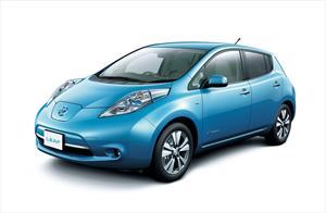 foto Nissan Leaf 30 kW nuevo color A elección precio $544,400