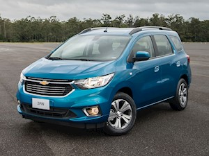 Chevrolet Spin LTZ 1.8 7 Pas Aut financiado en cuotas anticipo $127.185