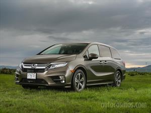 Honda Odyssey Touring nuevo color A eleccion precio $874,900