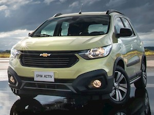 Chevrolet Spin Activ LTZ 1.8 5 Pas financiado en cuotas anticipo $128.685