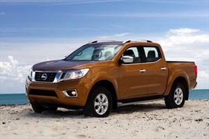 Nissan NP300 Frontier LE A/A nuevo color Rojo precio $453,000