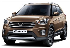 Hyundai Creta GLS Aut nuevo color A eleccion precio $346,100