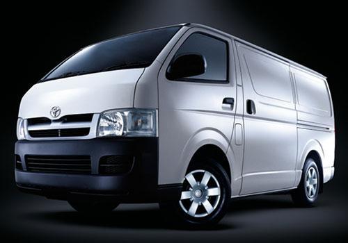 Toyota Hiace nuevos, precios del catálogo y cotizaciones.