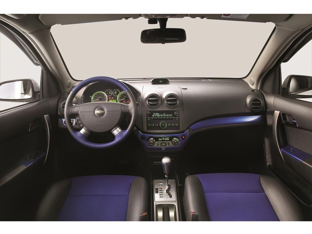 Chevrolet aveo ltz aut 2015 for Interiores 2016