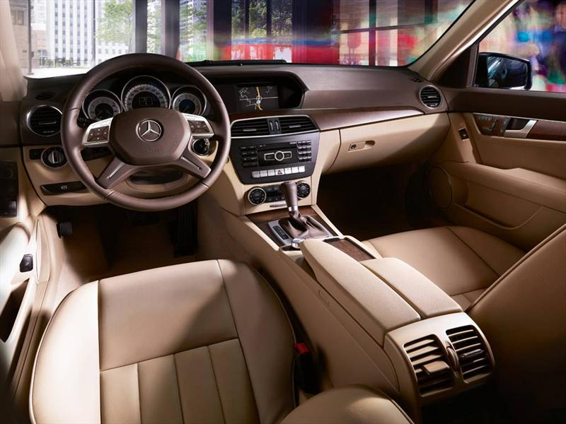 Mercedes benz clase c 250 cgi sport aut 2012 for Interior mercedes clase c