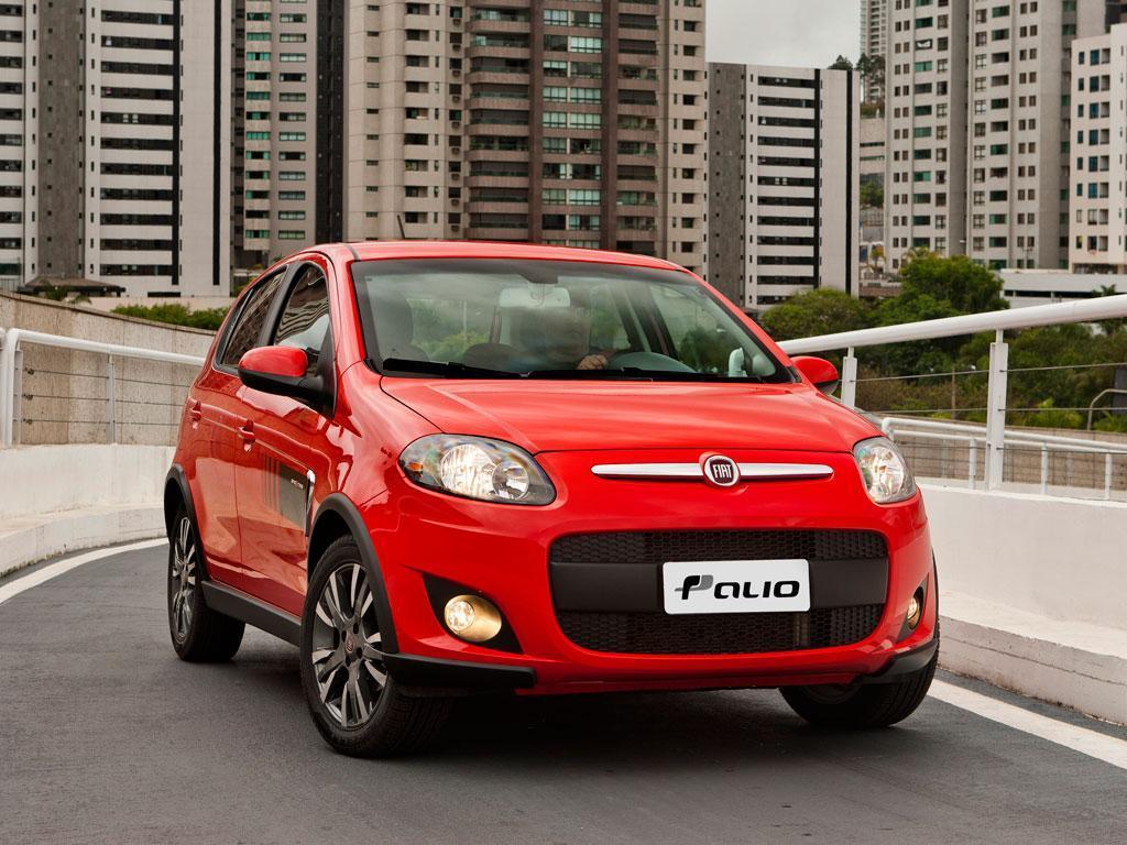 Fiat palio 5p attractive 2014 for Consumo del fiat idea 1 4