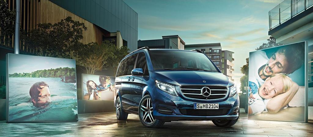 Mercedes Benz Clase V Nuevos Precios Del Cat 225 Logo Y