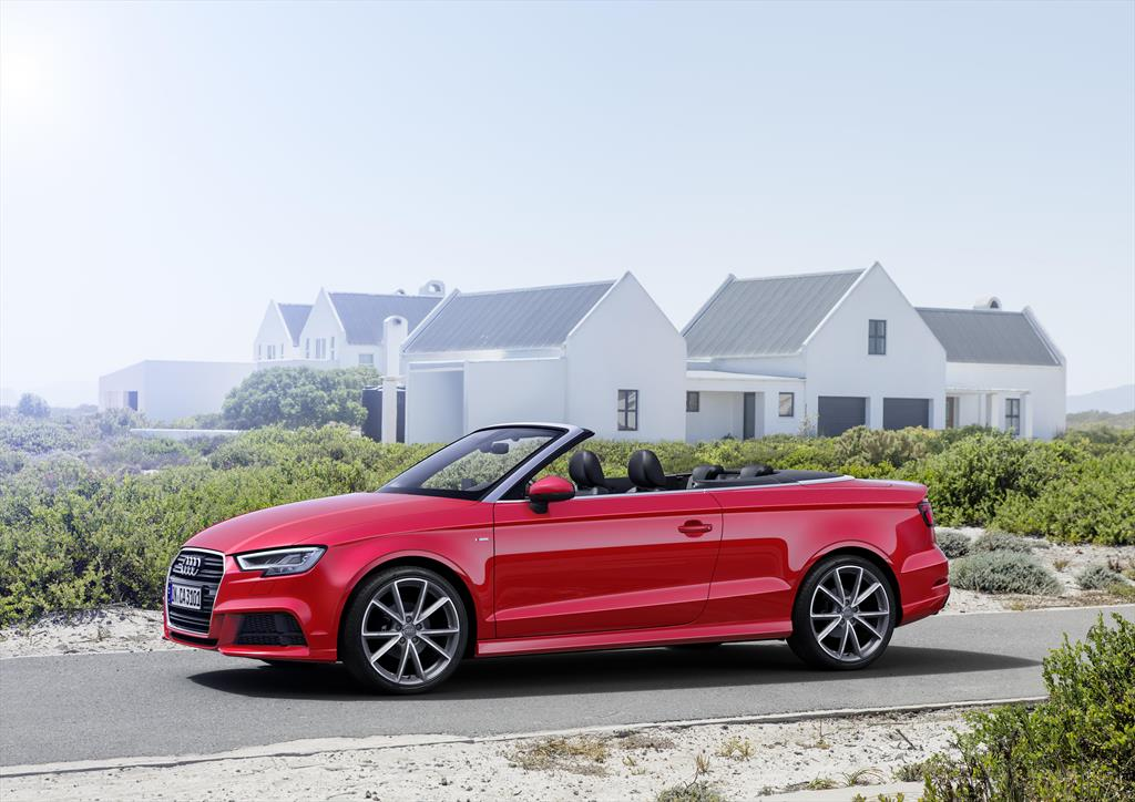 audi a3 cabriolet 1 8l s line aut 2017. Black Bedroom Furniture Sets. Home Design Ideas