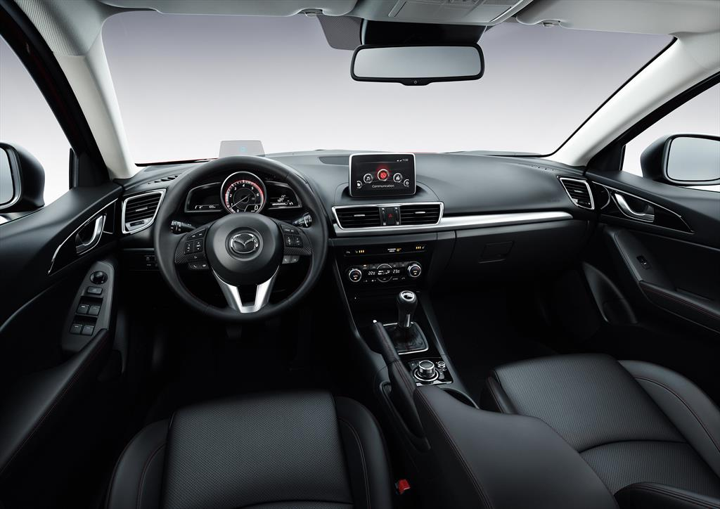 mazda 3 hatchback s sport 2016. Black Bedroom Furniture Sets. Home Design Ideas