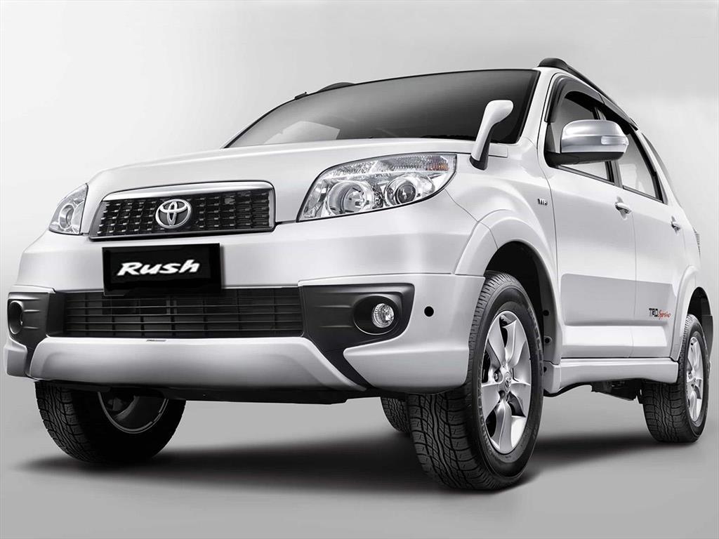 Toyota Rush nuevos, precios del catálogo y cotizaciones.