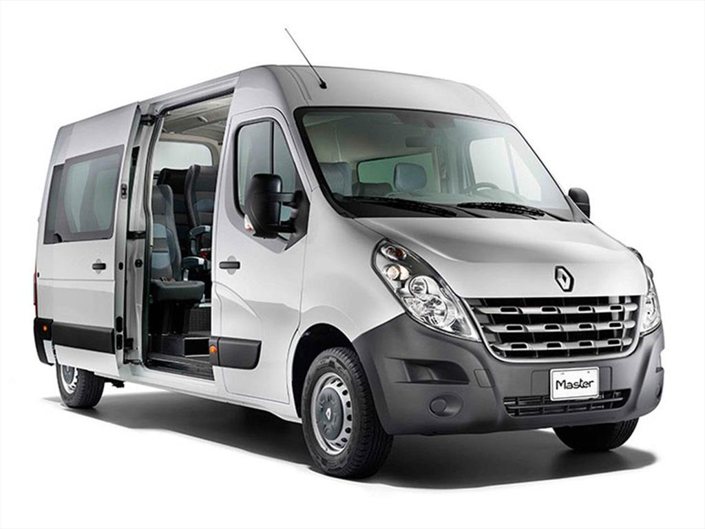 renault master minibus nuevos precios del cat logo y cotizaciones. Black Bedroom Furniture Sets. Home Design Ideas