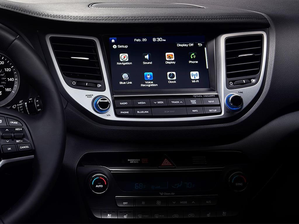 Hyundai tucson 2 0l gls 4x2 style 2018 - Hyundai tucson interior ...