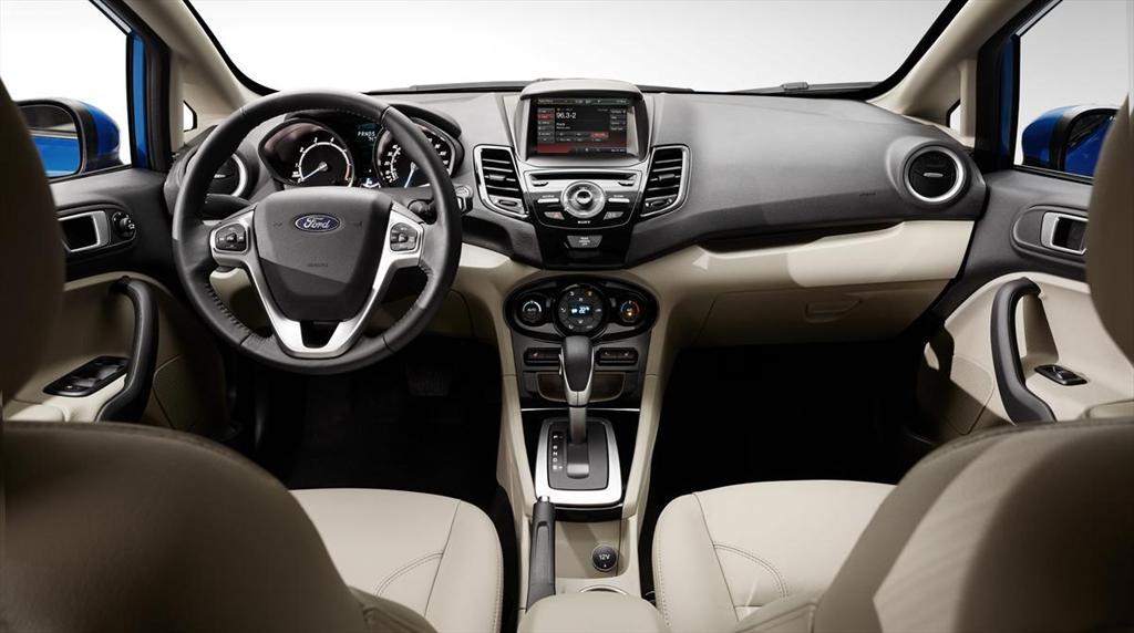 Ford fiesta hatchback s 2014 for Ford fiesta hatchback interior