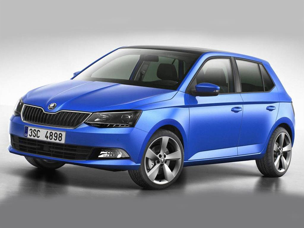 skoda fabia hatchback 1 4l tdi style 2017. Black Bedroom Furniture Sets. Home Design Ideas