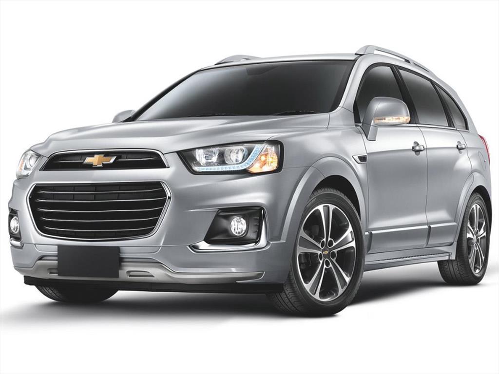 Chevrolet Captiva - Información 2018
