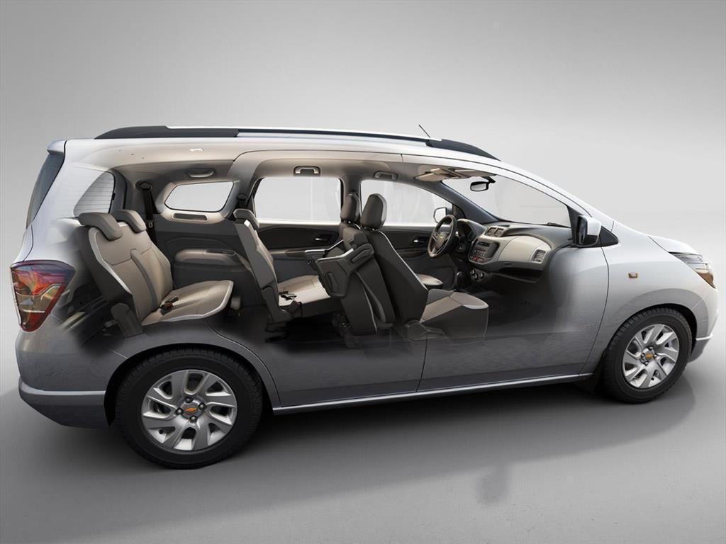 Chevrolet Spin nuevos 0km, precios del catálogo y ...